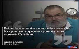 10/05/2019: Jorge Lanata, tras la presentación del libro