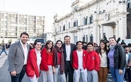 15/05/2019: En la plaza Mansilla celebraron el día de los centros de estudiantes