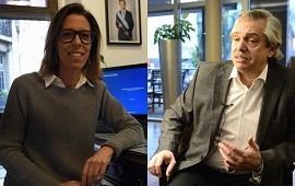 15/05/2019: El fuerte cruce entre Laura Alonso y Alberto Fernández por la decisión de la Corte Suprema de pedir el expediente del juicio por