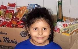 21/05/2019: No quiso regalos, en su cumpleaños recolectó alimentos y los donó a un comedor