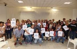 21/05/2019: Se otorgarán más de 90 escrituras de viviendas sociales en Rosario del Tala y Maciá