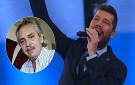 21/05/2019: Marcelo Tinelli ninguneó a Alberto Fernández