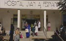 24/05/2019: Violenta pelea en el hospital Fernández: una pareja se agarró a las trompadas con un agente de seguridad