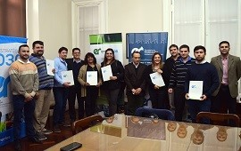 29/05/2019: Entregan a pymes certificados de inscripción anual en el Registro Industrial