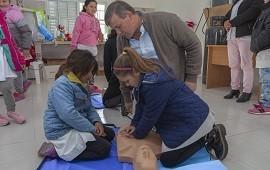 30/05/2019: Se realizó una capacitación sobre primeros auxilios en Rincón de Nogoyá