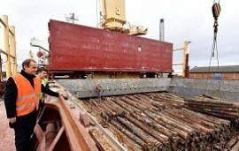 31/05/2019: En 2018 se embarcaron desde los puertos entrerrianos más de 617.000 toneladas