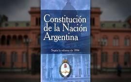 """01/05/2021: """"Soy la Constitución Nacional y quiero contarles que estoy triste y desilusionada"""""""