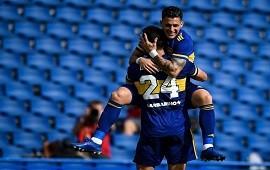 02/05/2021: Boca se aseguró la clasificación ganando ante Lanús