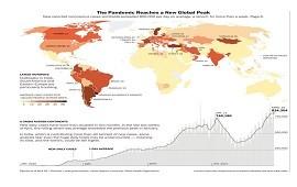 03/05/2021: The New York Times alerta sobre el nuevo pico mundial de coronavirus, e identifica a Uruguay y Argentina como los casos más preocupantes