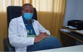 """05/05/2021: """"Tenemos temor a no poder dar la respuesta correcta como sistema sanitario"""", reconoció el doctor Ragone"""