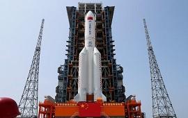 07/05/2021: El cohete chino fuera de control se aproxima a la Tierra y no se sabe dónde impactará