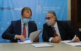08/05/2021: Bordet acordó en Nación una inversión millonaria para fortalecer la producción