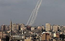 10/05/2021: Hamás atacó Jerusalén con cohetes para que retire sus tropas