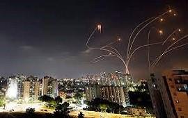 11/05/2021: Israel activa sistema de defensa ante ataque de Hamas