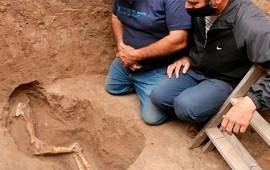 11/05/2021: Cavaban para hacer un pozo ciego y se encontraron con fósiles de 10.000 años de antigüedad