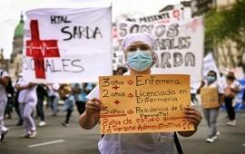 12/05/2021: Enfermeros de la Ciudad reclaman reconocimiento profesional