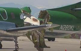 14/05/2021: Estados Unidos: chocan dos aviones en pleno vuelo