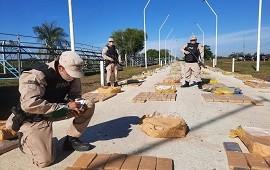 29/05/2021: Corrientes: secuestran seis toneladas de marihuana