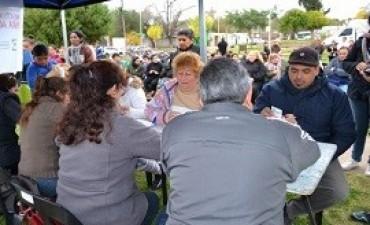Brindaron asistencia oftalmológica a más de 200 personas en Anacleto Medina