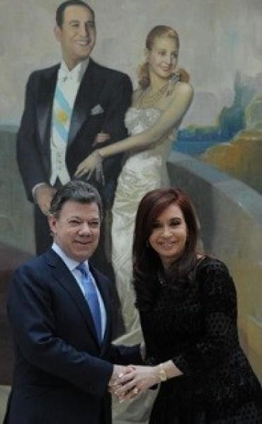 Argentina felicitó a Juan Manuel Santos por su triunfo