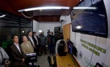 Se inauguró el sistema de video vigilancia en Cerrito