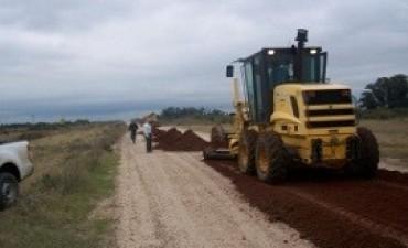 Enripian el acceso a Puerto Ruiz y la ex ruta 136 en el departamento Gualeguay