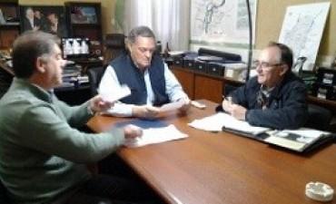Entregaron aportes para obras en La Paz