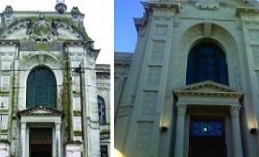 Se realiza la restauración y puesta en valor de la escuela Laprida en Victoria