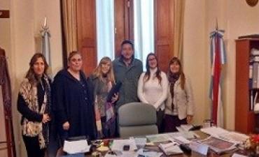 El Copnaf articula criterios de abordaje con el municipio de Diamante