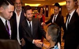 01/06/2017: Messi aseguró en China que espera poder clasificar al Mundial con la Selección