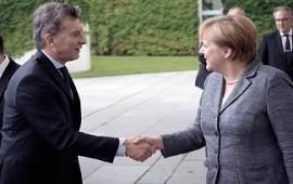 07/06/2017: Mauricio Macri recibe a Angela Merkel