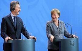 08/06/2017: Con su encuentro en la Argentina, Macri y Merkel consolidan la relación bilateral
