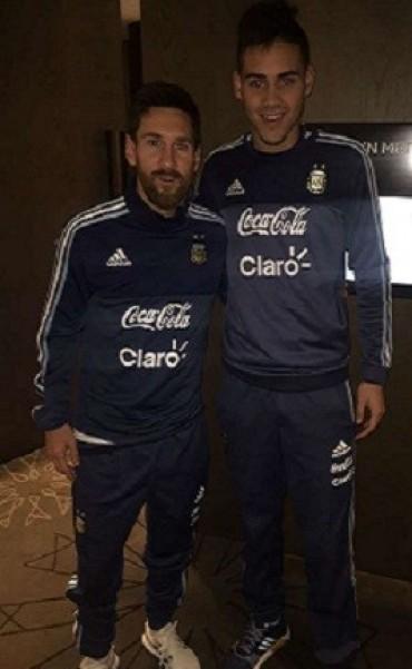 08/06/2017: Quién es el sparring que sorprendió a Lionel Messi