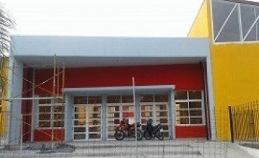 08/06/2017: El 30 se entregará la obra de ampliación y mejora de la Escuela Secundaria 14 de Santa Elena