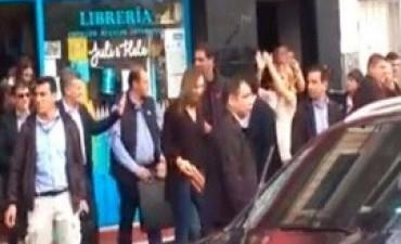 17/06/2017: Docentes de Suteba en Tigre admiten que armaron el escrache contra Macri y Vidal