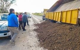 05/06/2018: Vialidad ejecuta trabajos de conservación en el departamento Paraná