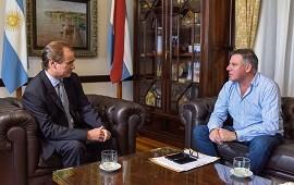 11/06/2018: El gobernador analizó la situación del instituto del seguro provincial