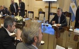 12/06/2018: Aborto, FMI y CGT, ejes de la reunión de Gabinete encabezada por Macri