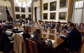18/06/2018: Bordet repasó con su gabinete las obras en marcha en la provincia