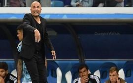 21/06/2018: Sampaoli se hizo responsable de la derrota: