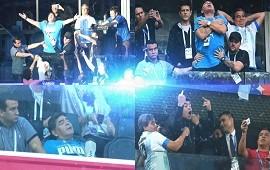 26/06/2018: Reencuentro, baile, euforia, angustia y descompensación: el partido aparte de Diego Maradona