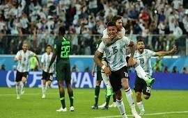 26/06/2018: Rojo, el hombre de los goles decisivos frente a Nigeria en Mundiales