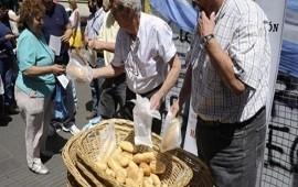 06/06/2018: Panazo frente al Congreso en protesta por el precio de la harina