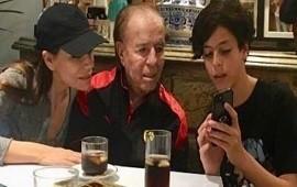 12/06/2018: Máximo Menem Bolocco apareció por primera vez en TV y contó que tiene un nuevo