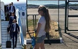12/06/2018: La Selección menos querida de Rusia 2018: una sola fanática los recibió en el aeropuerto