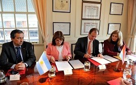 12/06/2018: Entre Ríos y Nación acordaron trabajar en conjunto contra el narcotráfico
