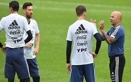 13/06/2018: Sampaoli repitió equipo por cuarta vez y tiene todo listo para enfrentar a Islandia