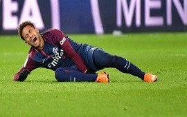 19/06/2018: Neymar entrenó 10 minutos y se retiró con dolor en su tobillo derecho