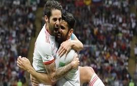 21/06/2018: España derrotó a Irán sin sobrarle nada y se acomoda en el Grupo B