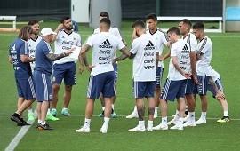 23/06/2018: Hubo cumbre en Bronnitsy: jugadores de la Selección y Sampaoli se dijeron todo